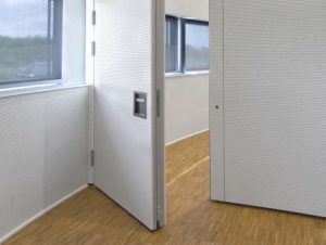 Raumabtrennung Tür