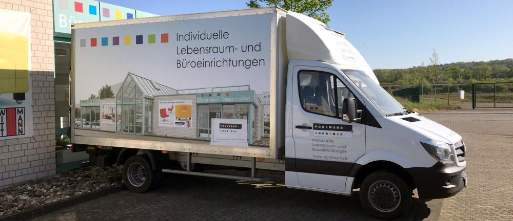 Lieferung Pohlmann LKW