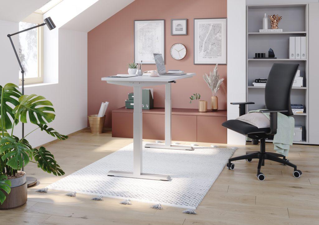 Homeoffice Steh-Sitz-Tisch