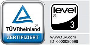 WINI Level 3 Zertifizierung