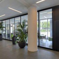 Gerd Pohlmann Büro Objekteinrichtungen Raumabtrennung Glastür