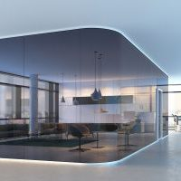 Gerd Pohlmann Büro Objekteinrichtungen Raumabtrennung Rauchglas